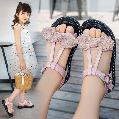 儿童凉鞋女2020新款公主鞋软底防滑沙滩童鞋中大童小学生女童凉鞋