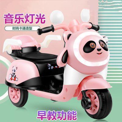 儿童电动车摩托车婴幼宝宝三轮车玩具车男女小孩遥控电瓶童车可坐