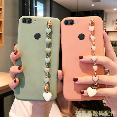 华为畅享8plus手机壳女防摔硅胶磨砂全包边FLA-AL20保护套新款潮8