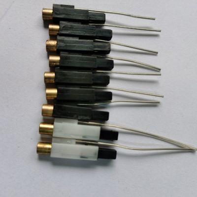 一次性打火机配件压电点火枪铜头专用电子100粒装线长24cm全包邮