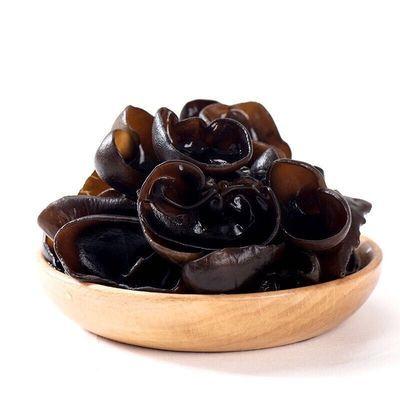 东北黑木耳干货东北特产木耳肉厚无根椴木野生黑木耳包邮250g500g