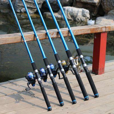 钓鱼竿全套海竿套装抛竿远投竿甩竿钓竿海钓竿金属轮鱼杆渔具