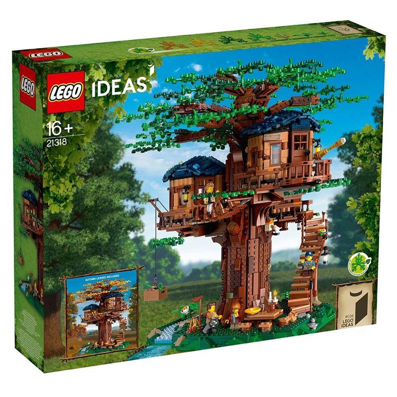 乐高积木21318树屋LEGO ideas小颗粒拼插玩具收藏