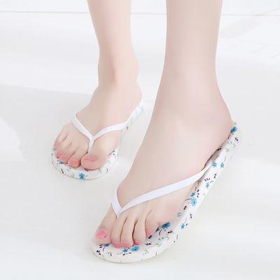 2020新款人字拖女士厚底沙滩凉拖鞋百搭学生韩版拖鞋女夏时尚外穿