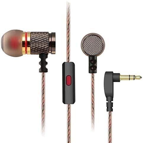 K歌耳机高颜值vivo华为OPPO小米苹果通用游戏吃鸡入耳金属耳塞线
