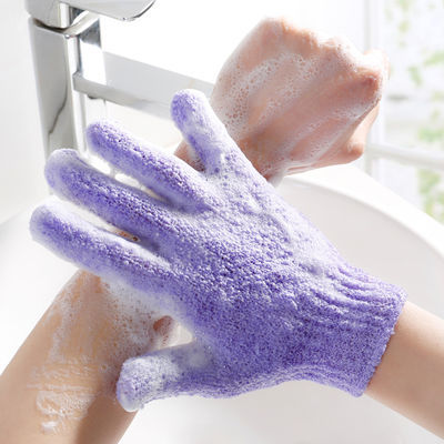 搓澡神器五指沐浴手套搓澡巾去角质洗澡手套搓泥擦背磨砂强力