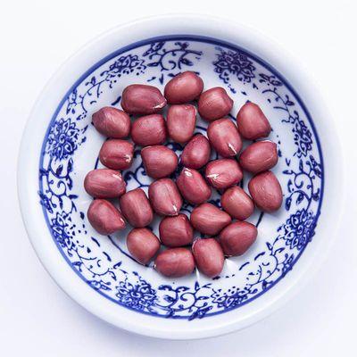 红皮花生米1斤2斤3斤新货小粒生花生仁四粒红花生红衣花生米仁