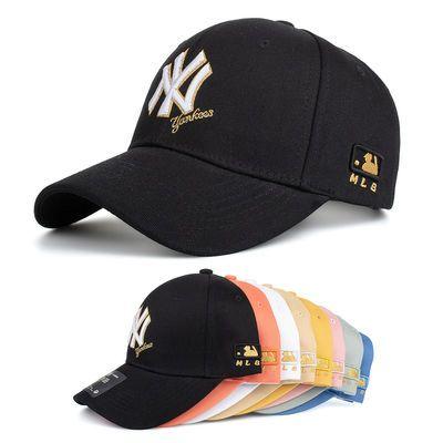 帽子男女夏季韩版棒球帽潮流鸭舌帽休闲百搭太阳帽ins网红遮阳帽