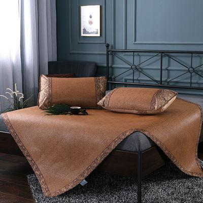 可折叠凉席子藤席凉席1米8单件凉席1米5双人宿舍凉席2米m0.9米