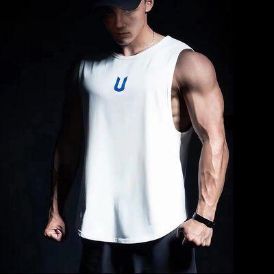 健身背心男运动宽松速干透气吸汗训练服坎肩肌肉T恤无袖健身衣