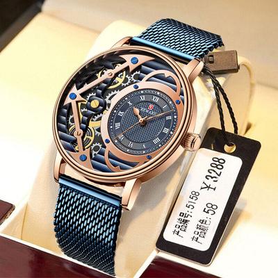 【日本精工机芯】高端男士手表30米防水手表仿机械手表2020最新款