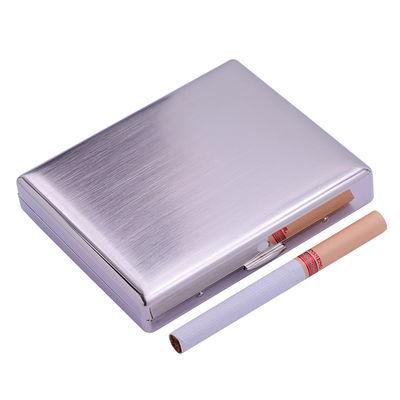 KUBOY超薄烟盒便携9/16/20支装防压翻盖男金属铁香烟盒礼品刻字