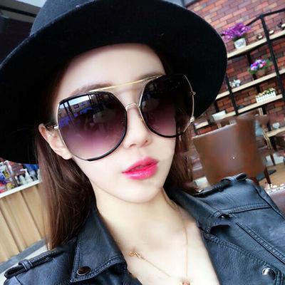 多边形偏光太阳镜女新款韩版时尚复古原宿风墨镜网红眼镜防紫外线