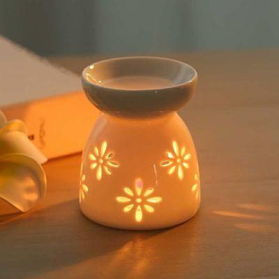 精油香薰炉家用卧室陶瓷蜡烛香炉客厅室内助眠驱蚊创意房间熏香炉