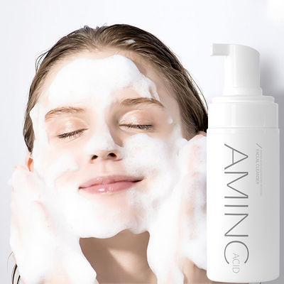 氨基酸洗面奶泡泡洁面慕斯深层清洁卸妆男女学生美白补水保湿控油