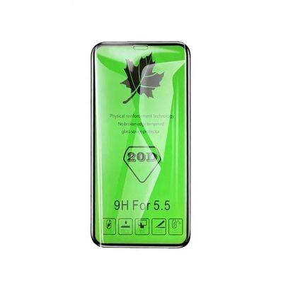 绿枫叶20D苹果iPhone11ProXXSXRMAX全屏钢化膜高清防摔