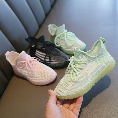 2020夏季新款小中大童运动鞋飞织透气舒适休闲鞋男童运动鞋子潮鞋