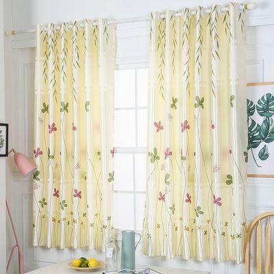(买一送三)出租房成品窗帘特价客厅卧室窗帘半遮光小窗帘包邮