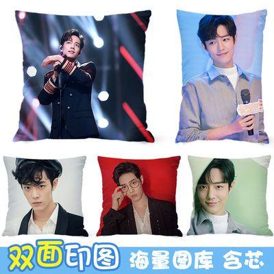 肖战抱枕DIY照片同款枕头来图定制明星周边学生礼物生日礼物靠垫