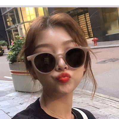 买一送一太阳镜ns防紫外线眼镜韩版四色糖果墨镜时尚复古街拍韩版
