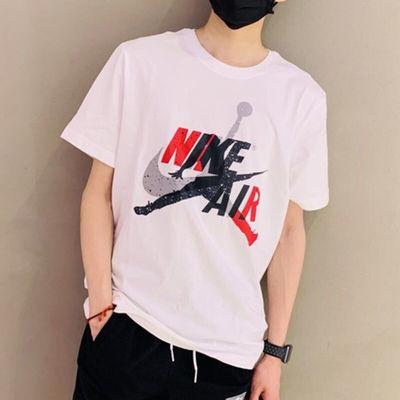 Nike耐克AJ短袖男2020新款AIR JORDAN飞人休闲运动半袖T恤BV5906