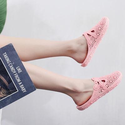 【买一送一拍一份=2双】洞洞学生浴室拖鞋居家拖鞋女拖鞋夏季凉拖