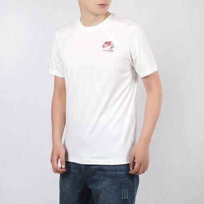 NIKE耐克男装2020夏季新品时尚印花圆领短袖运动休闲T恤CT6874