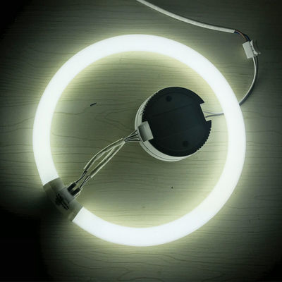 环形灯管22W圆形T5T6吸顶灯32W四针三基色40W节能灯荧光灯55W家用