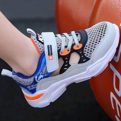 37468/回力儿童鞋男童运动鞋夏季镂空单网男童跑步鞋中大童学生网鞋童鞋