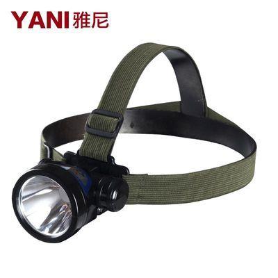 雅尼512led头灯充电强光远射300米割胶户外施工充电头戴式电筒防