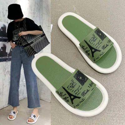 拖鞋女夏2020新款ins韩版夏季室内防滑洗澡时尚外穿防臭凉拖鞋