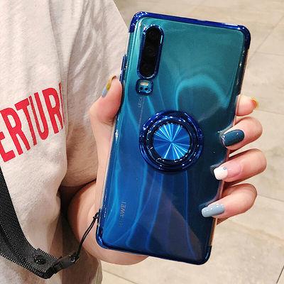 华为p30手机壳p30pro防摔保护套全包电镀男女指环硅胶套透明软壳