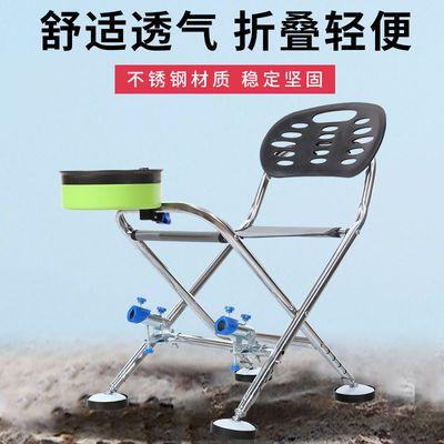 户外钓鱼椅子折叠坐椅多功能便携全套座椅凳子2020新款特价小钓椅