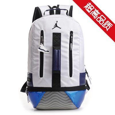 aj11康扣飞人篮球运动书包男学生双肩背包健身骑行旅游包电脑包潮