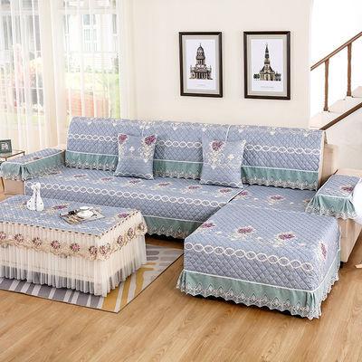 沙发垫四季通用沙发套全包万能套坐垫夏天沙发巾罩欧式组合防滑
