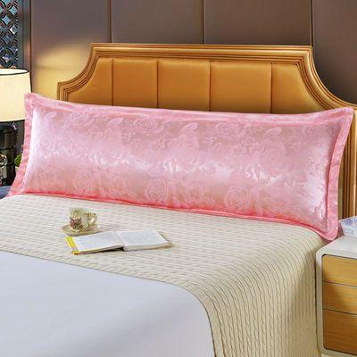 双人枕套提花枕头套纯棉情侣加长枕芯套12米15米18米长枕套