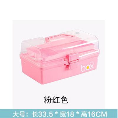 家庭药箱药盒小医药用多层急救药品收纳箱盒家用塑料儿童药箱医疗