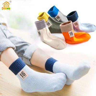 【十六款童袜】儿童袜子秋冬中筒加厚男童女童短袜宝宝中大童袜子