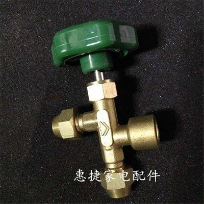 R22制冷剂维修加氟工具套装汽车家用空调冰箱高低压加注压力表管