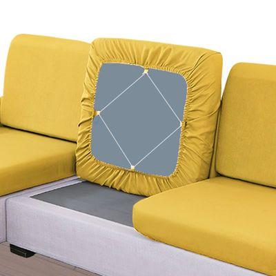 定做棉麻布艺组合沙发套罩订制全包万能海绵坐垫套四季通用沙发笠