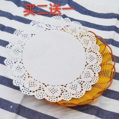 花底纸买二送一花边花底纸吸油纸装饰纸烘培用纸蕾花边家用花边纸
