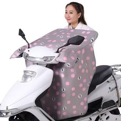 电动车挡风被夏季防晒防水电瓶摩托电车防雨遮阳罩夏天薄款春秋冬