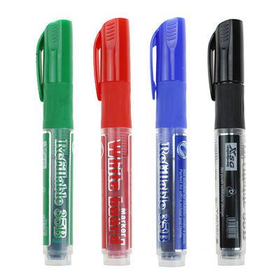 可擦白板笔可加墨水 环保无毒易擦白板笔 黑红蓝绿色白板笔黑板笔