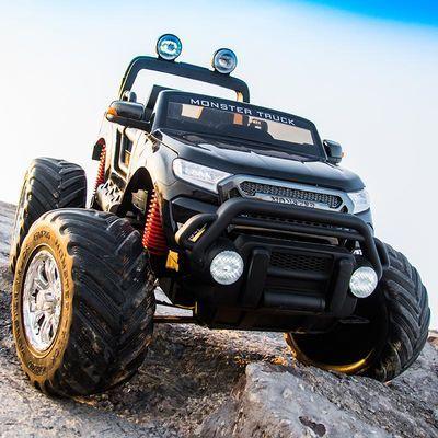 儿童电动车超大号四轮小孩遥控玩具汽车可坐人网红车宝宝越野童车