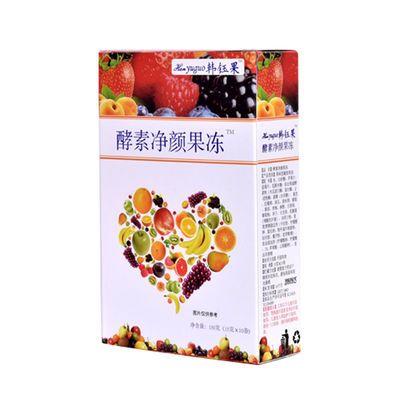 正品韩钰果水果果蔬复合酵素果冻条非减吸脂肥孝素果粉梅清肠零食