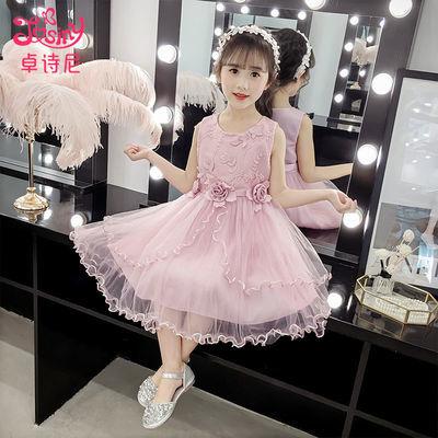 卓诗尼3儿童装4女童连衣裙5夏装2020新款公主裙6夏天7洋气8岁纱裙