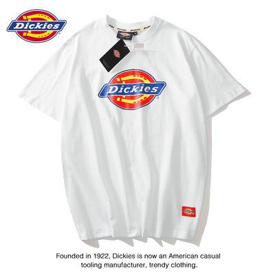 【送手提袋】迪克斯T恤夏季欧美潮牌Dickies短袖情侣装男女同款