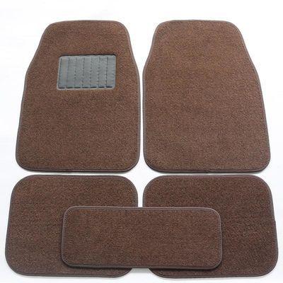 脚垫四季通用大包围上的副垫防水防滑易清洗地毯绒面丝圈车垫