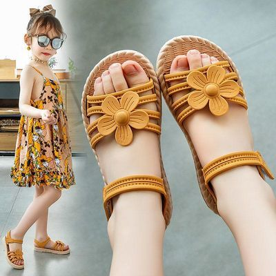 女童凉鞋2020夏季新款儿童时尚软底公主鞋小女孩宝宝鞋子女防滑