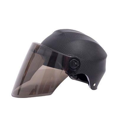电动车头盔摩托车机动车头盔男女夏季防�鸱雷贤庀咚净�轻便安全帽
